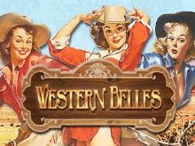 Играть бесплатно в азартную игру в хорошем качестве Western Belles